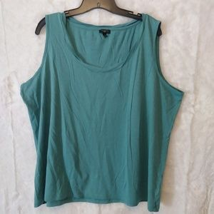 Talbots Sleeveless Rolled Edge Top